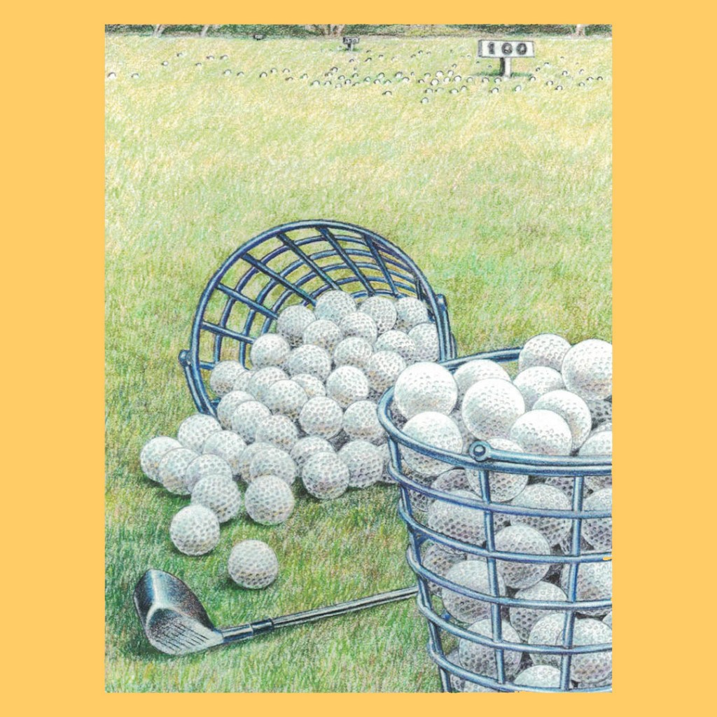 Golf Balls Note Cards –...