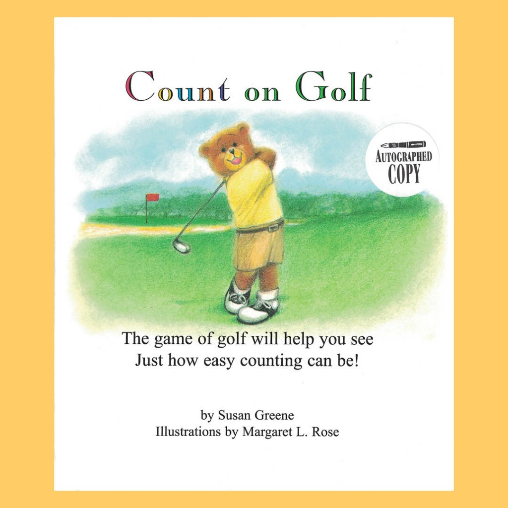 Count on Golf – Hardcover