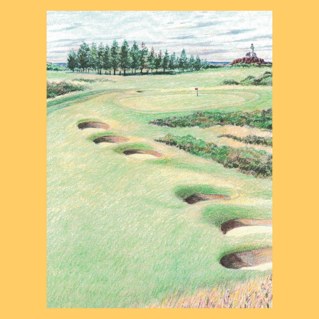 Golf Course Note Cards –...