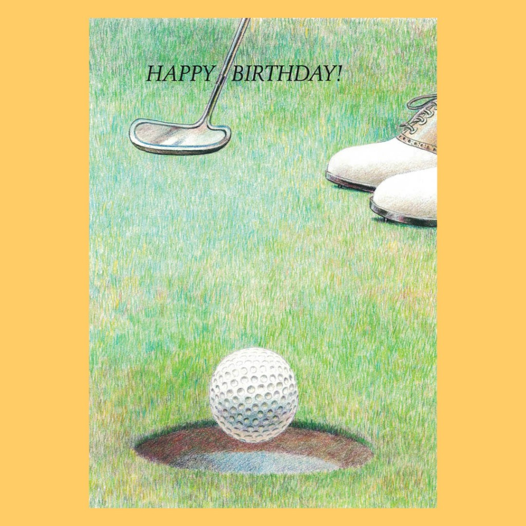 Birthday Greeting Card – Putt
